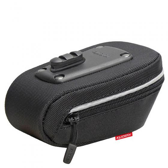KLICKfix Rixen & Kaul Micro Sport Satteltasche (inkl. KLICKfix Satteladapter) black