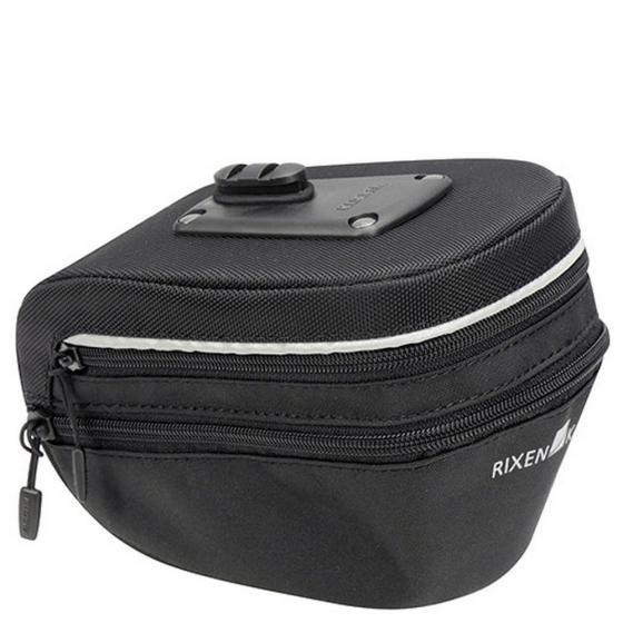 KLICkfix Rixen & Kaul Micro Sport 200 expandable Satteltasche (inkl. KLICKfix Satteladapter) black
