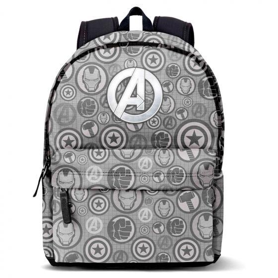 Marvel Avengers Laptop-Rucksack mit USB-Anschluss 44 cm grey