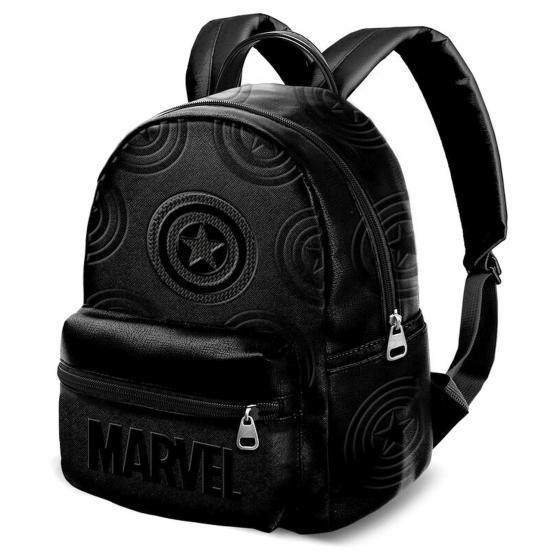 Marvel Captain America Defense Rucksack 32 cm black