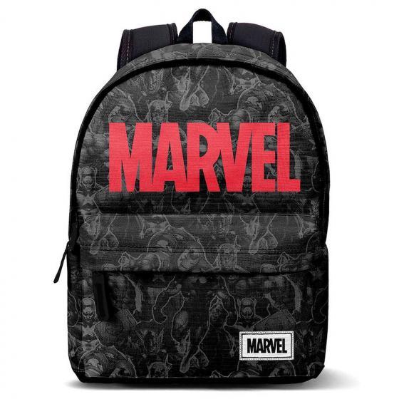 Marvel Laptop-Rucksack mit USB-Anschluss 44 cm black/red