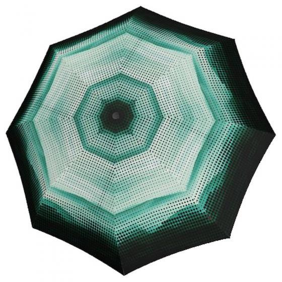T.200 M Duomatic Taschenschirm / Regenschirm Ecorepel 2Dream green