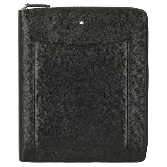 Sartorial Notebook Holder ZipAr black