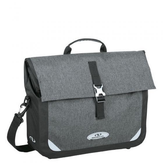 Kilmore Commuter Fahrradtasche mit Laptopfach 42 cm tweed grey/black