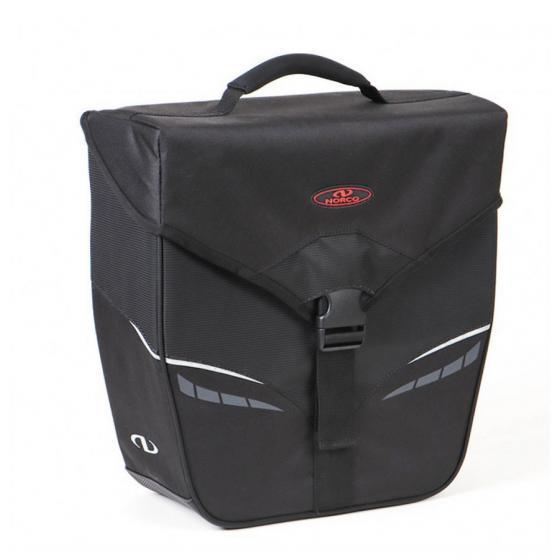 Orlando City  Gepäckträgertasche inkl. KLICKfix Kompaktschiene 34 cm black