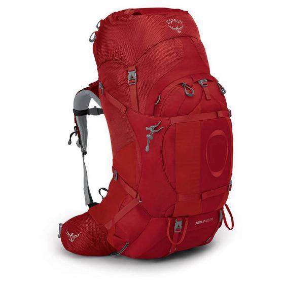 Ariel Plus 70 W Trekkingrucksack M/L 75 cm carnelian red