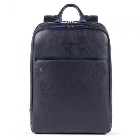 B2S Laptoprucksack mit iPad-Fach RFID 39 cm 14'' blue