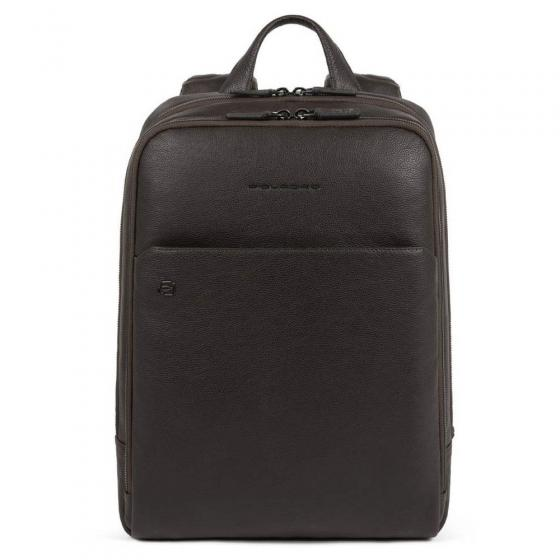 B2S Laptoprucksack mit iPad-Fach RFID 39 cm 14'' dark brown