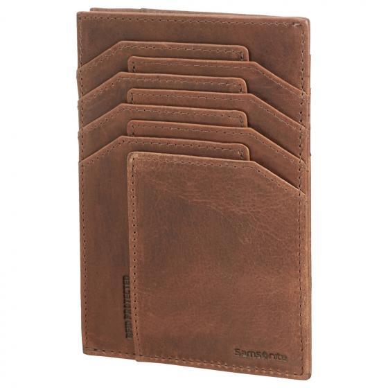 Oleo SLG Geldbörse Leder 13 cm dark brown