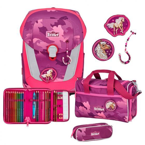 Sunny II Schulranzen Set 4tlg. Pink Horse