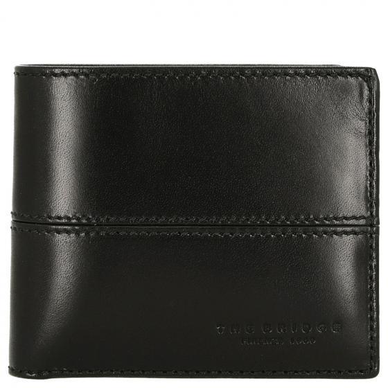 Story Uomo Geldbörse Leder 11 cm black