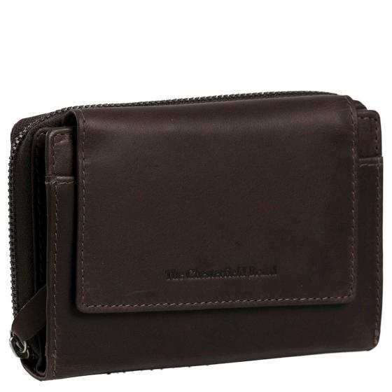Ascot Damenbörse RFID 14 cm brown
