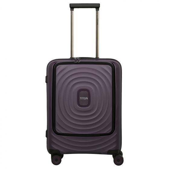 Looping 4-Rollen-Kabinentrolley mit Vortasche 55 cm  purple