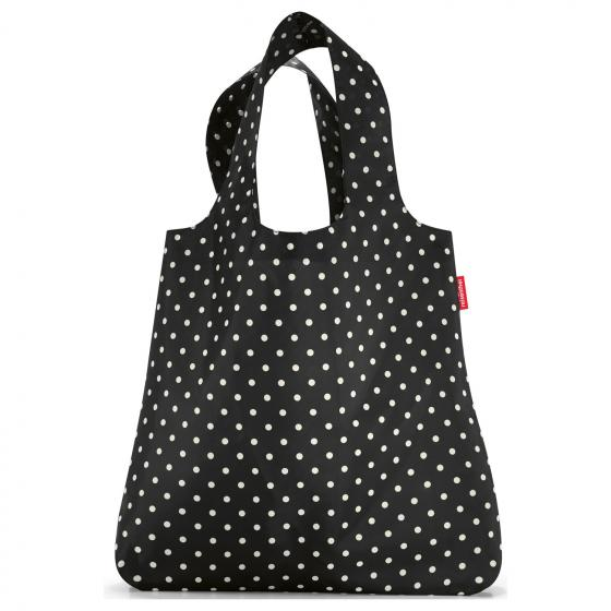 shopping mini maxi shopper / Einkaufsshopper faltbar 60 cm mixed dots