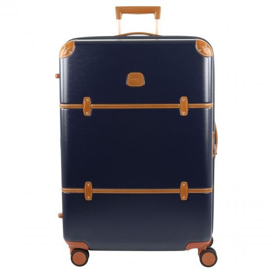 Bellagio 4-Rollen-Trolley L 76 cm blue tobacco