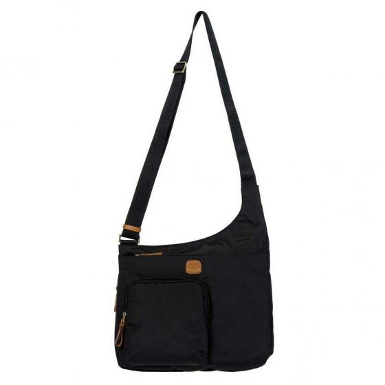 X-Bag Hipster Crossbody Damentasche 32 cm black