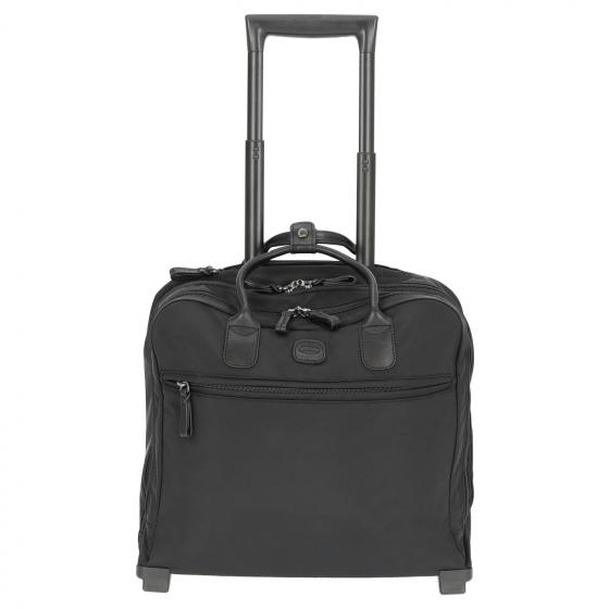 X-Travel Pilotcase 2-Rollen-Businesstrolley 40,5 cm black