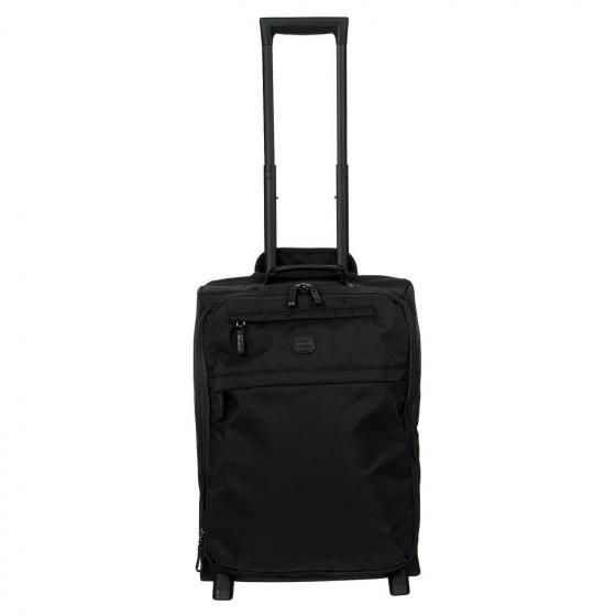 X-Travel 2-Rollen-Kabinentrolley S 55 cm  erw. black