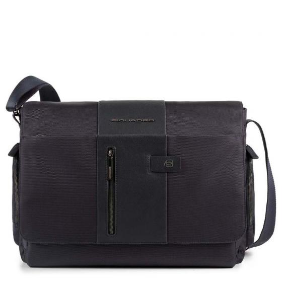 "Brief Messenger 41 cm 14"" blue"