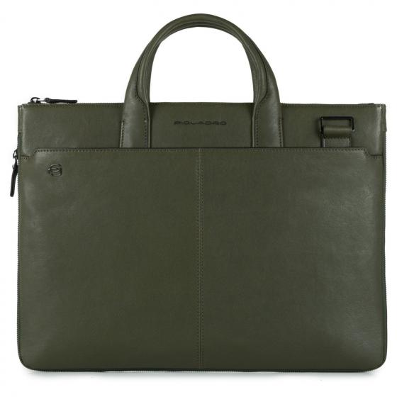 Black Square Laptoptasche L 42 cm green
