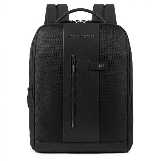 Brief Laptop-Rucksack L 41 cm black