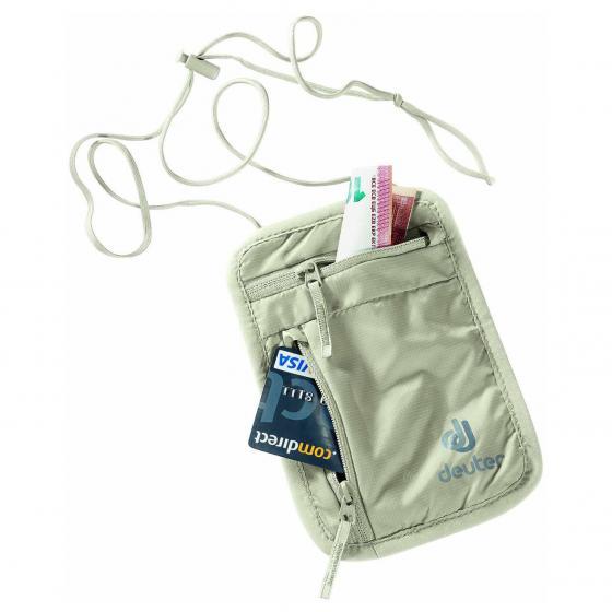 Accessoires Security Wallet I Brustbeutel sand
