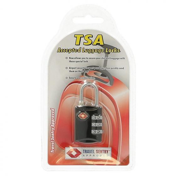 Bags & More TSA Kofferschloss black