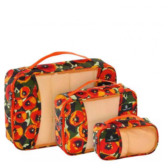 Pack-It Originals Cube Set XS/S/M tulips