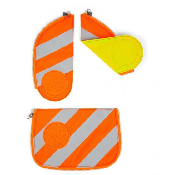 Zubehör Cubo/Cubo Light Sicherheitsset fluoreszierend/reflektierend Zip-Sets 3-tlg. orange -2018