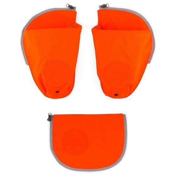 Zubehör Pack Seitentaschen Zip-Set 3-tlg. fluoreszierned orange -2018