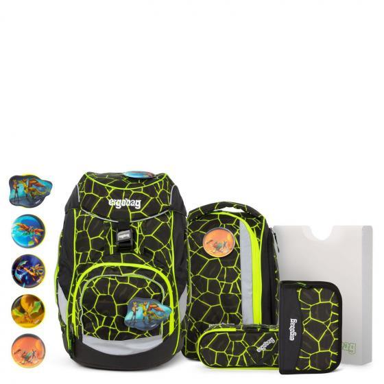 "Pack Special Edition ""LUMI"" Schulrucksack Grundschule Set 6-tlg. Lumi - Edition 35 cm DrachenfliegBär 2019/20"