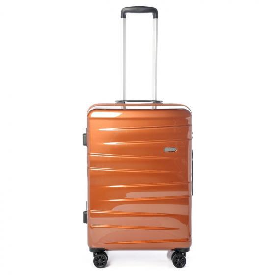 Vision 4-Rollen-Trolley 66 cm rich copper