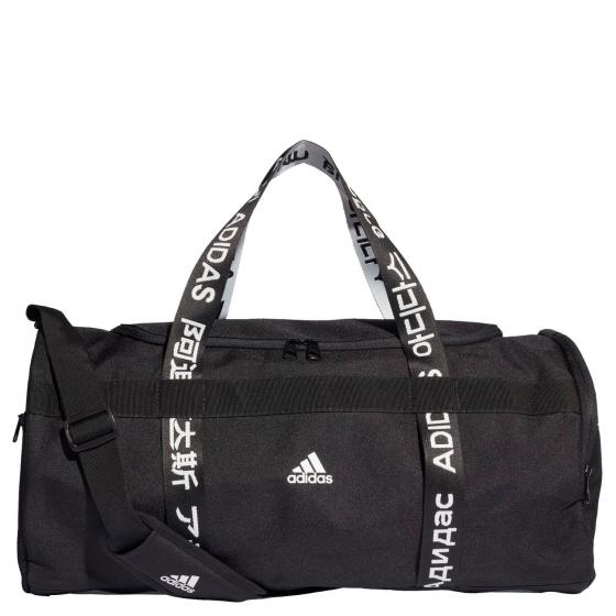 4 Athletes Sporttasche M 57 cm black black white