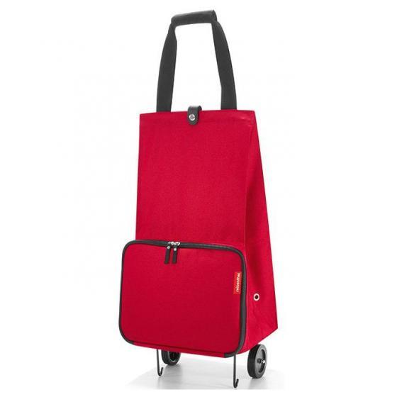 foldabletrolley / Einkaufstrolley faltbar 66 cm red