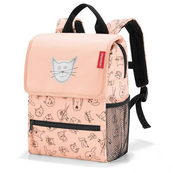 kids collection Kinderrucksack 28 cm cats and dogs rose
