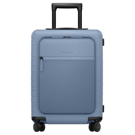 M5 Smart 4-Rollen-Kabinentrolley 55 cm blue vega