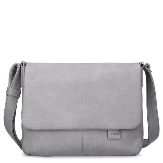 Mademoiselle MT13 Messenger Bag 33 cm canvas-grey