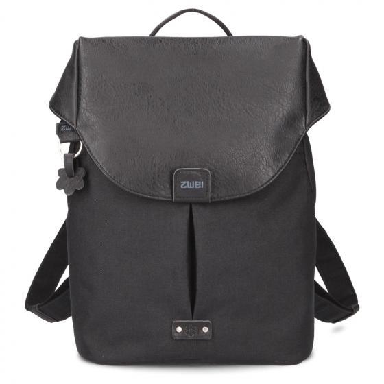 "Olli O12 Rucksack mit Laptopfach 13"" 32 cm black"