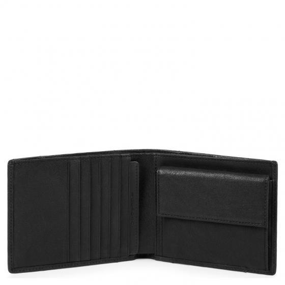 Brief Geldbörse RFID 12 cm black
