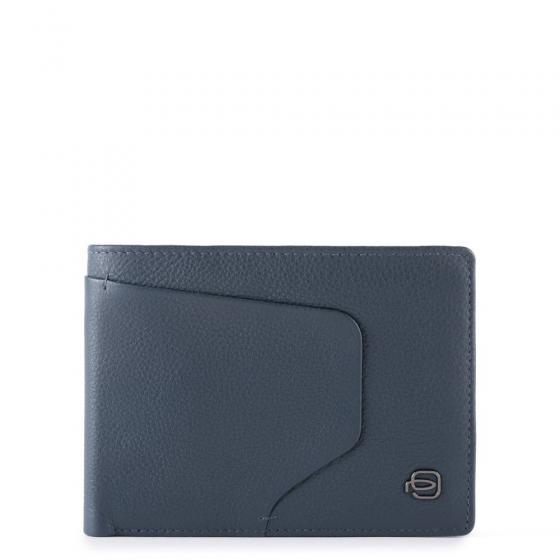 Akron Geldbörse RFID 13 cm blue