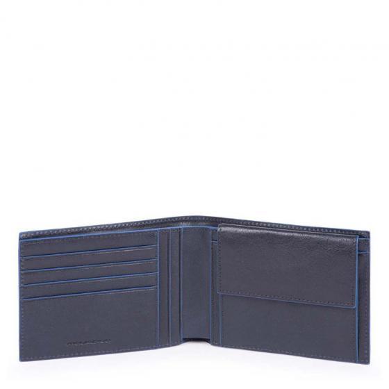 B2SR Börse mit Münzfach 13cm blue