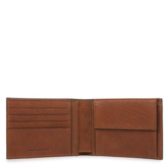 Black Square Geldbörse RFID 12,5 cm brown