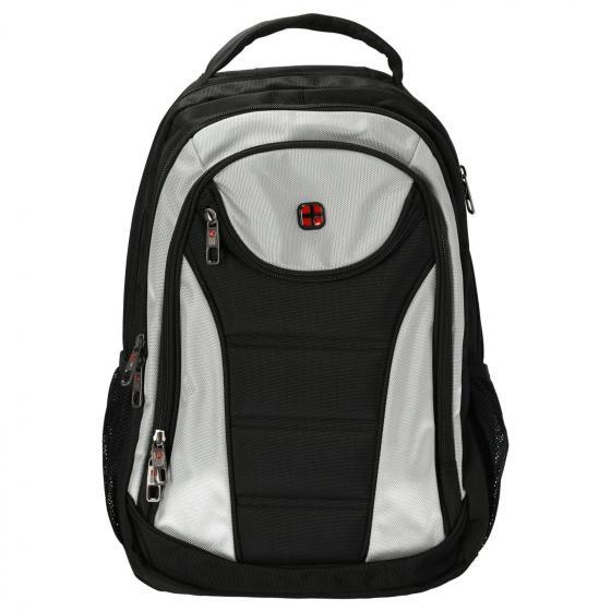 Laptop-Rucksack 49 cm black-grau