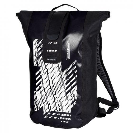 Velocity Design Rucksack im Kuriertaschenstil mit Roll-Klettverschluss 23 L, 50 cm Digital Erosion