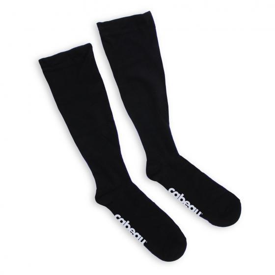 Bamboo Compression Socks / Bambus Kompressionsstrümpfe black/small
