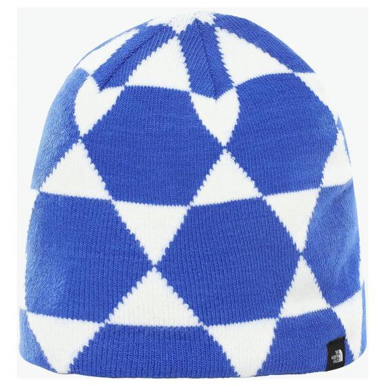 Alpine Beanie blue dome jacquard