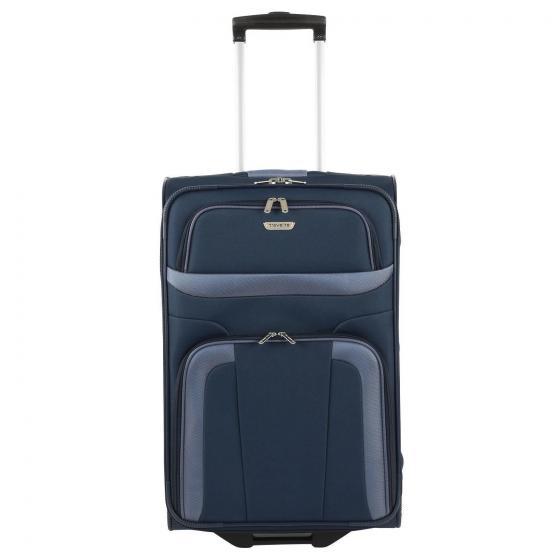 Orlando 2-Rollen-Trolley M 63 cm blue