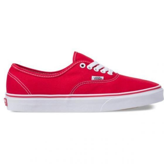Unisex Authentic Sneaker Schuh VN000EE3RED1 40 | red