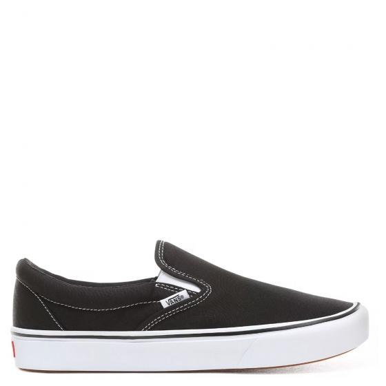 Uni ComfyCush Slip-On Sneaker Schuh WMDVNE1 42 | black white