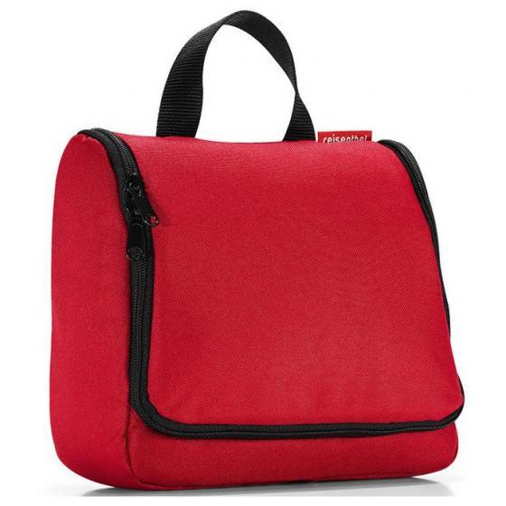cosmetics toiletbag / Kulturbeutel red